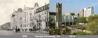 Templeuniversity1900&2010
