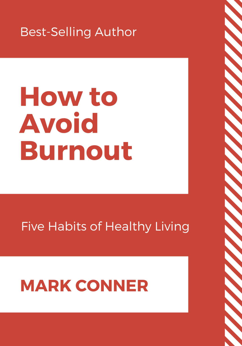 How to Avoid Burnout (Front Cover) copy